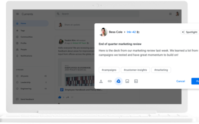 """Social tools, like Currents, help """"reconnect"""" your remote workforce."""