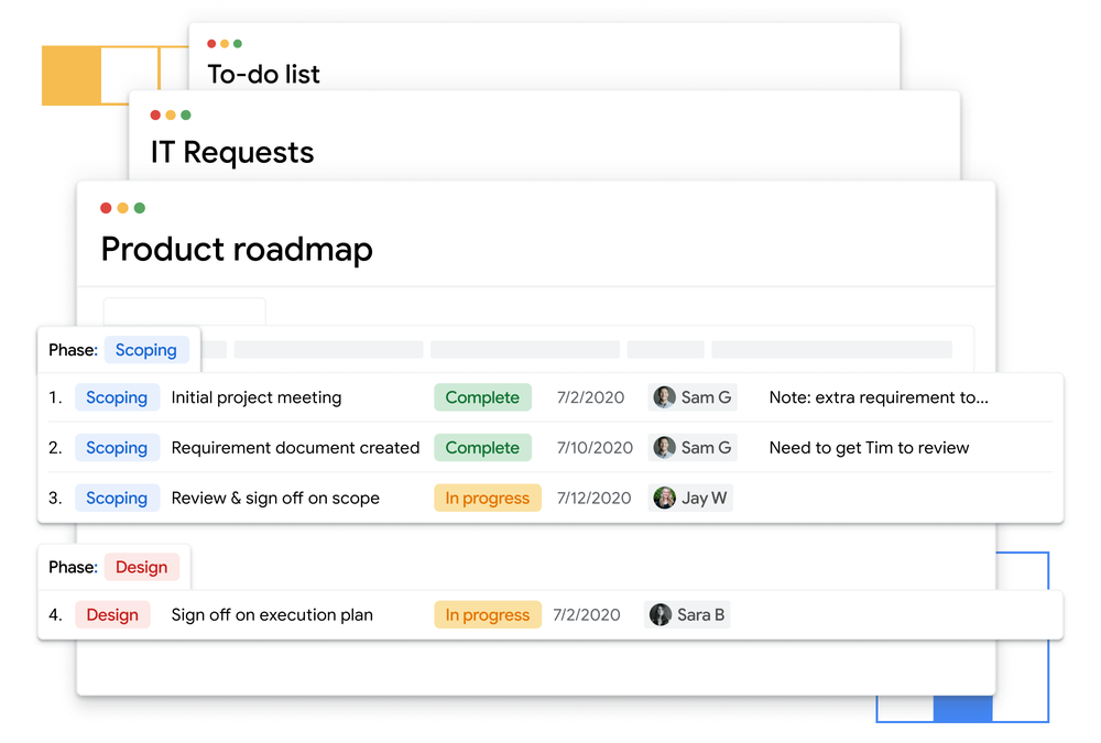 Tables is the new project tracking system to replace Trello, Airtable
